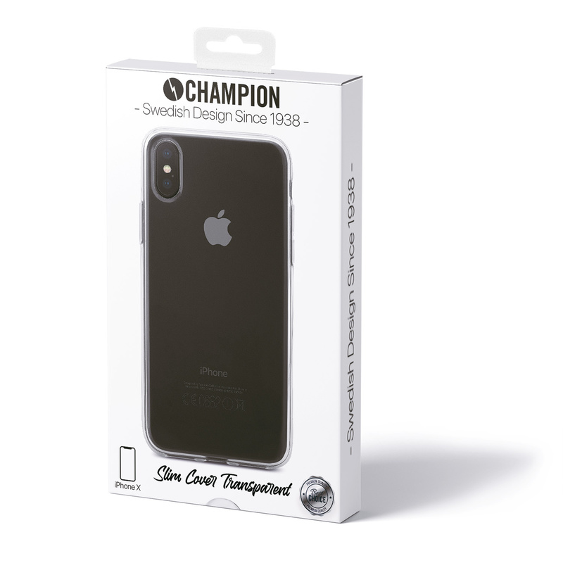 Slim Cover Tr iPhone X/XS