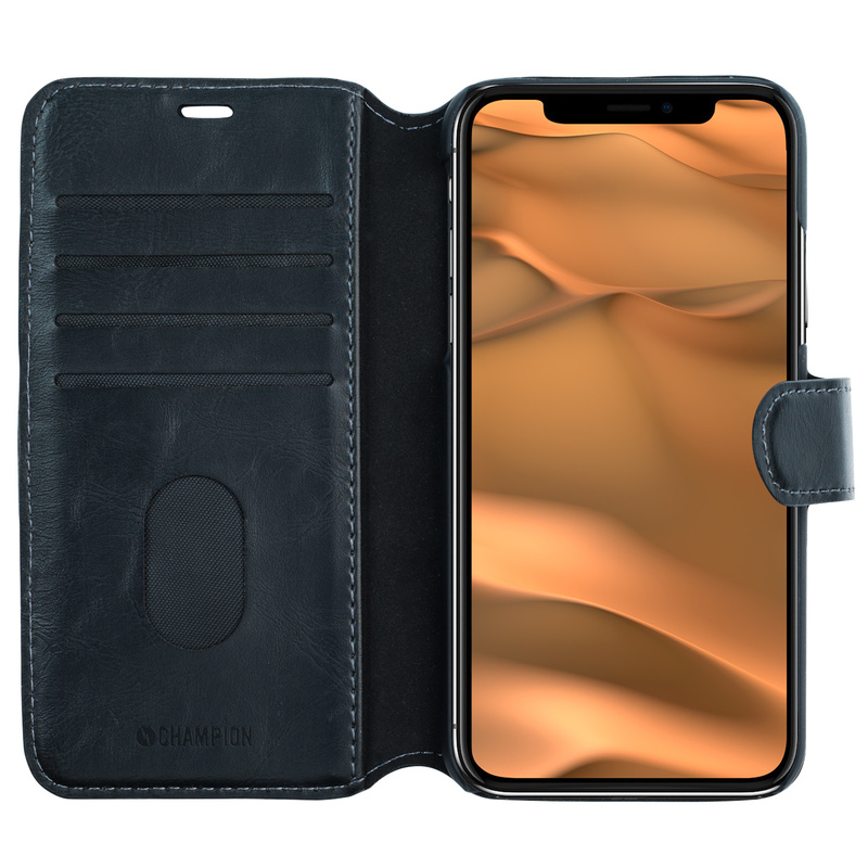 Slim Wallet Case iPhone 11 Svart