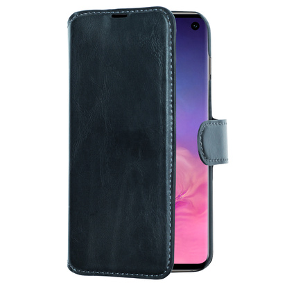 Slim Wallet Case Galaxy S10+ Svart