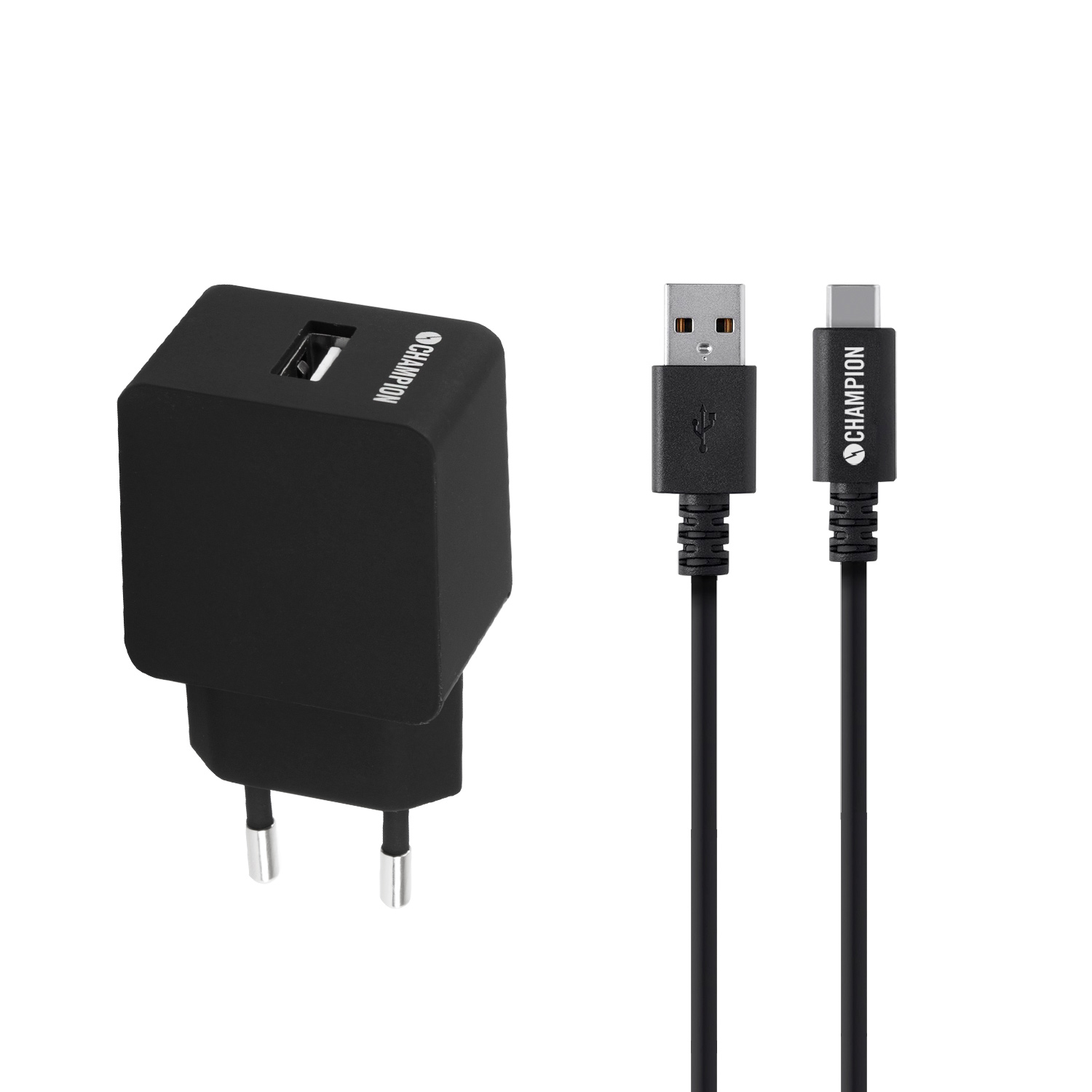 Ladd&Synk Kit USB-C 2.4A Svart
