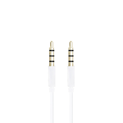 3,5mm Audiokabel 2m Vit